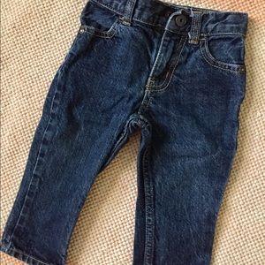 OshKosh 12 month straight leg jeans